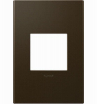 Pass & Seymour AWP1G2BR6 Wall Plate, Screwless, 1-Gang, Bronze