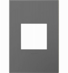 Pass & Seymour AWP1G2MG6 Wall Plate, Screwless, 1-Gang, Magnesium