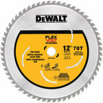 "Dewalt Accessories DWAFV31278 12"" 78T Circ Saw Blade"