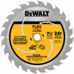 "Dewalt Accessories DWAFV3724 7-1/4"" 24T Carbon or Carbuerator Blade"