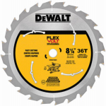"Dewalt Accessories DWAFV3836 8-1/4"" 36T Carbon or Carbuerator Blade"