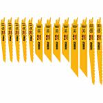 Dewalt Accessories DWAFV413SET 13PC Recip Blade Set