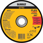 "Dewalt Accessories DWAFV86045 6"" MTL Stainless Steel Cut Wheel"