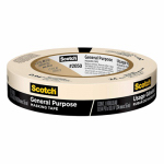 3M 2050-24A Painter's Masking Tape, 24mm x 55m
