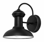 Globe Electric 40190 Light Fixture, Wall Mount, Weather Resistant Steel, Oil-Rubbed Bronze