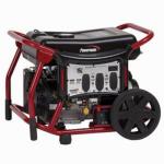Generac Power Systems PC0146500 Powermate Portable Generator, Recoil/Electric Start, 6500-Watt
