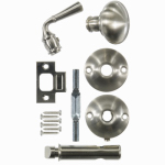 Hampton Products-Wright V2200SN Screen Door Mortise Latch, Satin Nickel