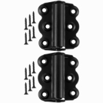 Hampton Products-Wright V221BL Self-Closing Hinges 2-3/4 In., Black
