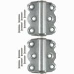 Hampton Products-Wright V221GAL Self-Closing Hinges 2-3/4 In., Galvanized