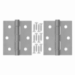 Hampton Products-Wright V35GAL Steel Hinge 3 In. x 2.5 In. x 0.08 In., Galvanized