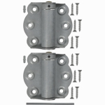 Hampton Products-Wright V650GAL Adjustable Self-Closing Hinges 2-3/4 In., Galvanized