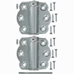 Hampton Products-Wright V650ZP Adjustable Self-Closing Hinges 2-3/4 In., Zinc Plate