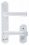 Hampton Products-Wright VWA214WH Washburn Surface Mount Latch, White