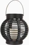 "Orbit Industries MW-T005 8.5"" Rattan Lantern"