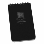 Rite In The Rain/ J L Darling 735 Notebook, Top Spiral, Black, 3 x 5-in