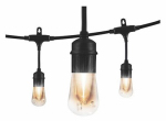 Jasco Products 35626 Vintage Caf  Light Set, 6 Bulbs, 12-Ft.