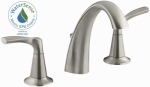 Sterling/Kinkead R37026-4D-BN Mistos Lavatory Faucet, Double Handle, Brushed Nickel