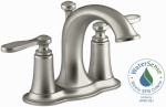Kohler/Sterling R45780-4D1-BN Linwood Lavatory Faucet, Double Handle, Brushed Nickel