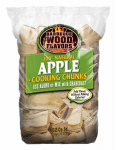 Bwf Enterprises 20031 Barbeque Apple Wood Chunks, 6-Lbs.