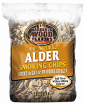 Bwf Enterprises 90305 Barbeque Alder Wood Chips, 2-Lbs.