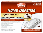 Scotts Ortho Roundup 0464812 Home Defense Liquid Antique Bait, 6-Pk.