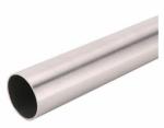 Knape & Vogt Mfg 0015-6BN Closet Pole, Brushed Nickel Steel, 6-Ft.