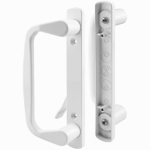"Prime Line Products 142264 Patio Door Handle Set 7-1/2"" Long, White"