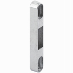 Prime Line Products 152509 Patio Sliding Glass Door Keeper, Zinc