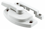"Prime Line Products 171696 Sash Lock, 2-1/16"" WHT"