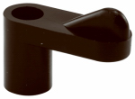 Prime Line Products 182873-6 Storm Door Screw or Screen Clips Blk