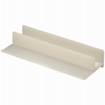Prime Line Products 194352 Shower Door Bottom Center Guide, White, 4-1/16 In.