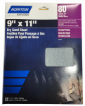 Ali Industries 50406-038 3PK 9x11 320G Sandpaper