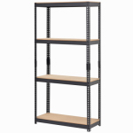 Storage Concepts By Jaken SCB0650D Shelving Unit, 5 Shelves, Steel, 12 x 30 x 60-In.
