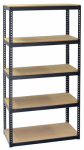 Storage Concepts By Jaken SCB0850D Shelving Unit, 5 Shelves, Steel, 16 x 36 x 72-In.