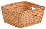 Honey Can Do Intl STO-02885 Nesting Water Hyacinth Basket, Brown, 15 x 15 x 8-In.