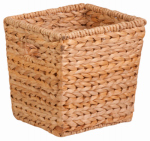 Honey Can Do Intl STO-02886 Nesting Water Hyacinth Basket, Brown, 0.5 x 10.5 x 10.5-In.