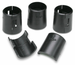 Honey Can Do Intl SHF-01133 Replacement Shelving Clips, Black, 4-Pk.