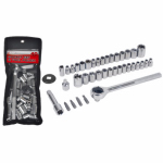Apex Tool Group-Asia DR62455 Drive Socket Set, 40-Pc.