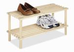 Whitmor 6026-3562 Natural Wood Household Shelf, 10.25 x 24.75 x 11.5-In.