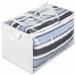 Whitmor 6044-137 Storage Bag, Clear, Jumbo 17.5 x 29 x 15.5-In.