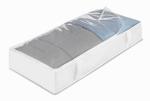 Whitmor 6044-75 Under-Bed Storage Bag, Vinyl, Clear, Jumbo