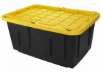 Creative Plastic Concepts SH27GTOUGHBXB/Y Tough Storage Box, 27-Gal., Must Purchase in Quantities of 6