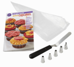 Wilton Industries 2104-7552 Cupcake Decorating Book Set