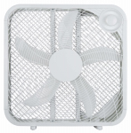 Midea International Trading FB50-16HW Box Fan, White, 20-In.