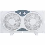 Ningbo Konwin Electrical Appliance WF-009 Twin Window Fan, 9-In.