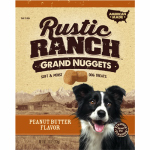 American Distribution & Mfg 00031 Grand Nuggets Dog Treats, Peanut Butter, 10-oz.