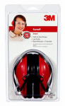 3M 90560-4C RED Folding Earmuffs