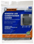 Thermwell AC2H 18 x 27 x 16-Inch Outside Window Air Conditioner Cover, Silver
