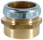 Brass Craft Service Parts 197B 1-1/2-Inch O.D. x 1-1/2-Inch Female Pipe Thread Waste/Trap Connector