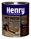 Henry HE208030 1-Qt. 208 Wet Patch Roof Cement